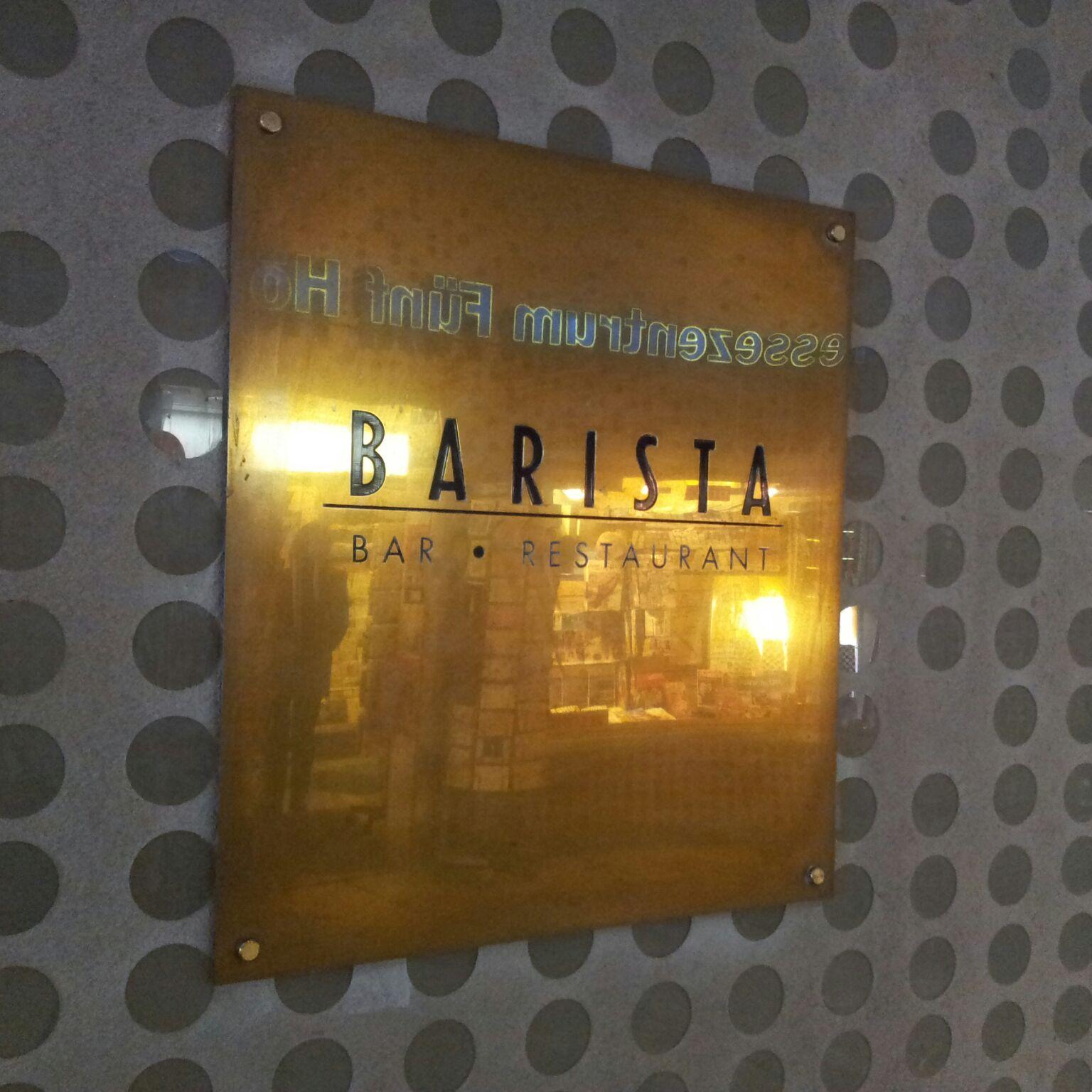 Eine Bar für viele Anlässe: Das Barista
