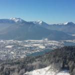 Blick vom Riederstein auf Rottach-Egern