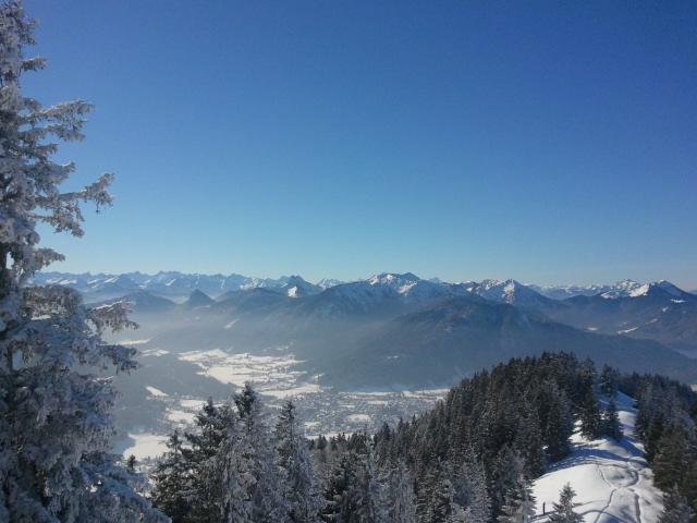 Schöne Winterwanderung am Tegernsee