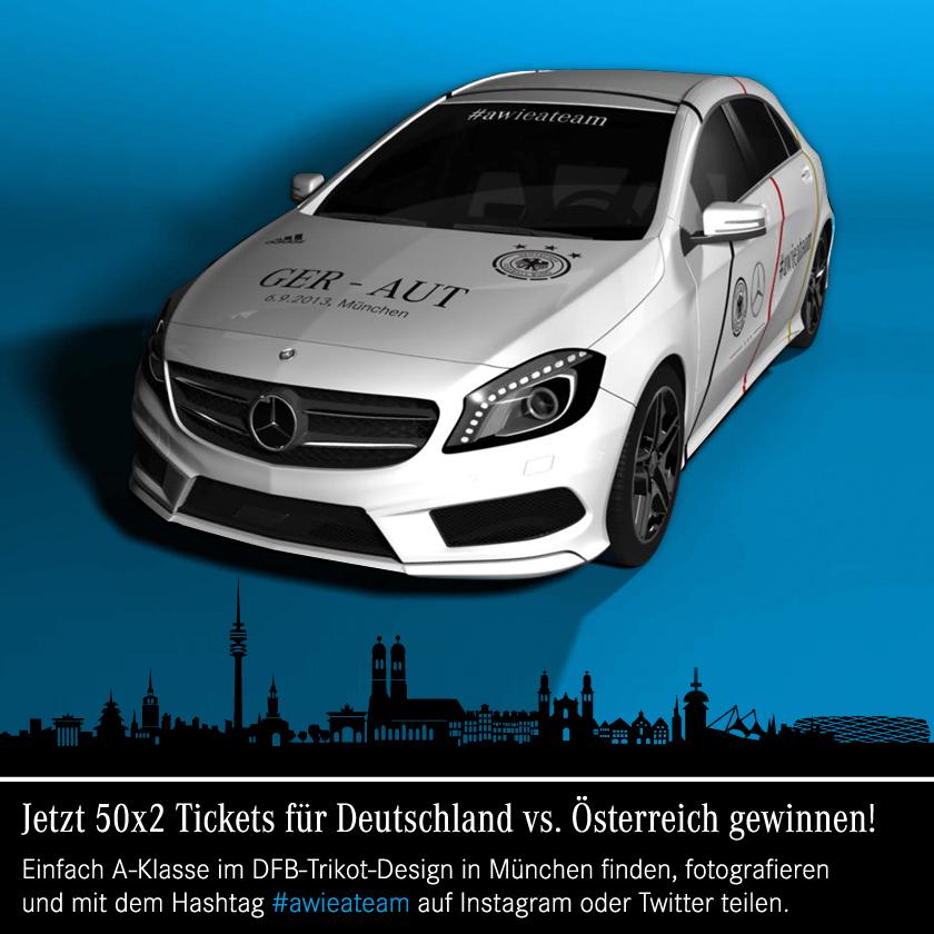 Tickets für Länderspiel Deutschland vs. Österreich am 06.09. in München gewinnen!