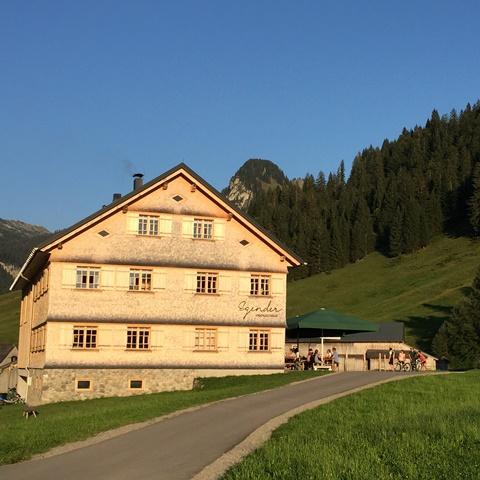 Jagdgasthof Egender in Schönenbach