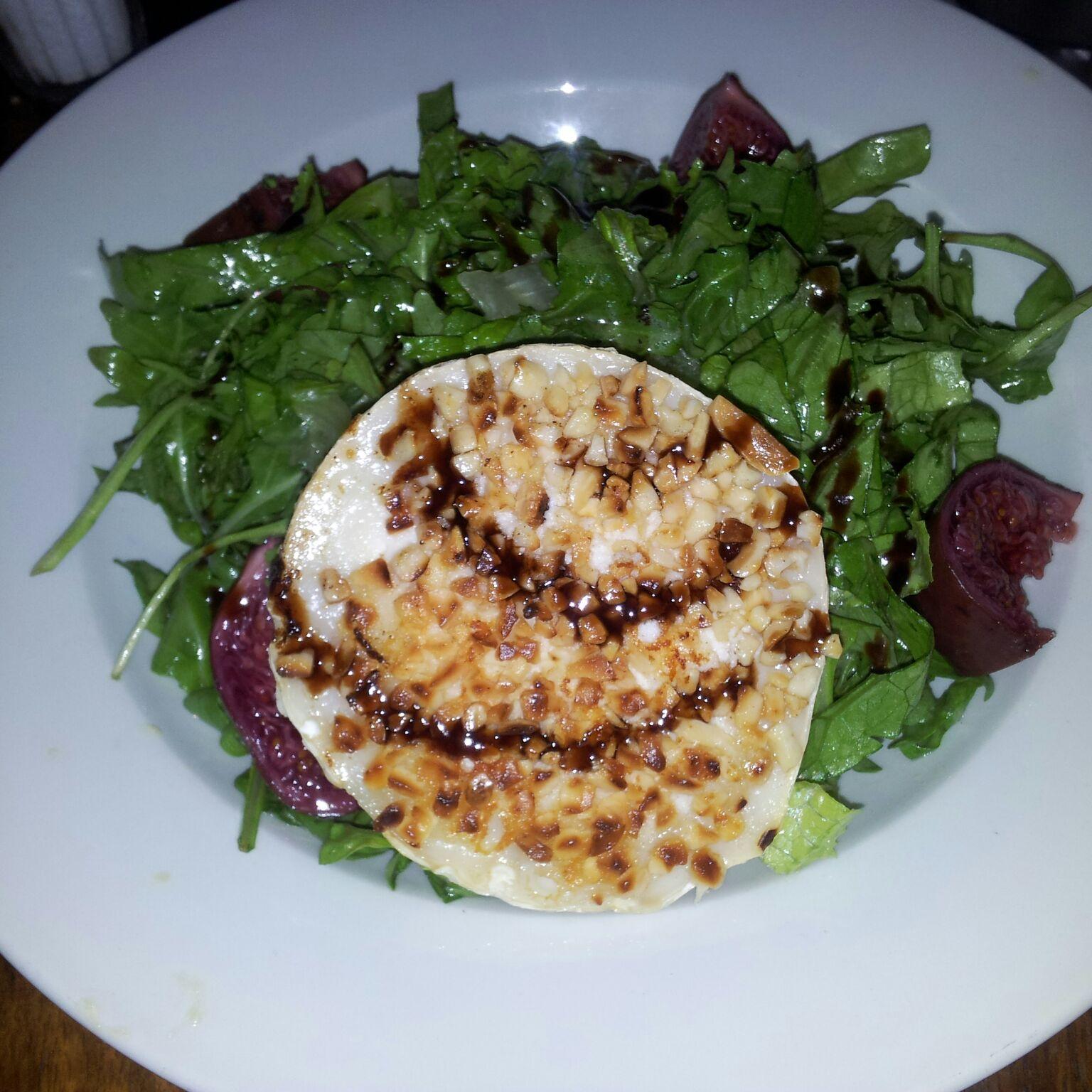 Salat von Romana und Rucola
